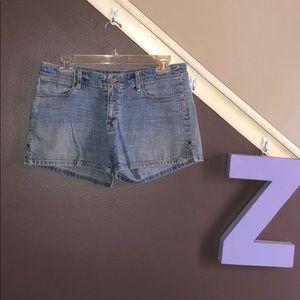 Blue Marlin size 9 jean shorts